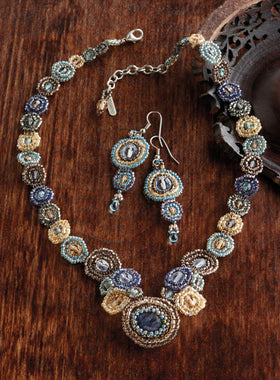 Atitlán Beaded Medallion Jewelry