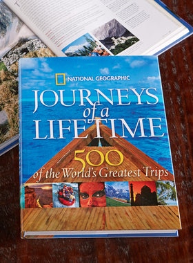 Journeys of a Lifetime Book