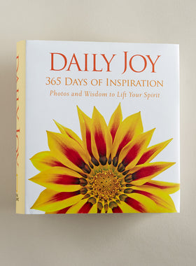 Daily Joy: 365 Days of Inspiration Book