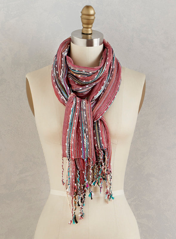Beautyberry Scarf