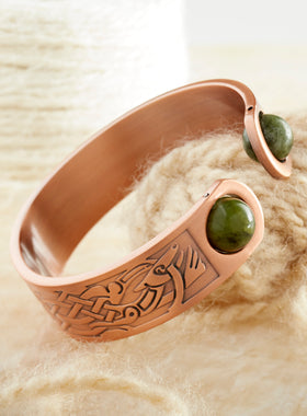 Connemara Celtic Cuff Bracelet