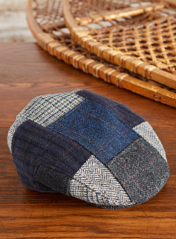 Dockside Irish Tweed Patchwork Cap