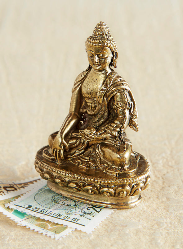 Earth Witness Buddha Statuette