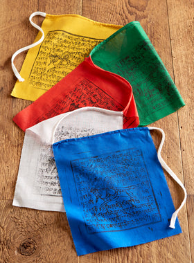 Windhorse Prayer Flags - Set of 2