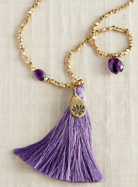 Shangri-La Tassel Necklace