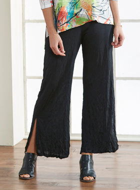 Swing Step Wide-Leg Pants