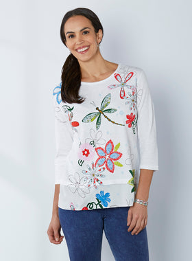 Petalura Patterns Dragonfly Tunic