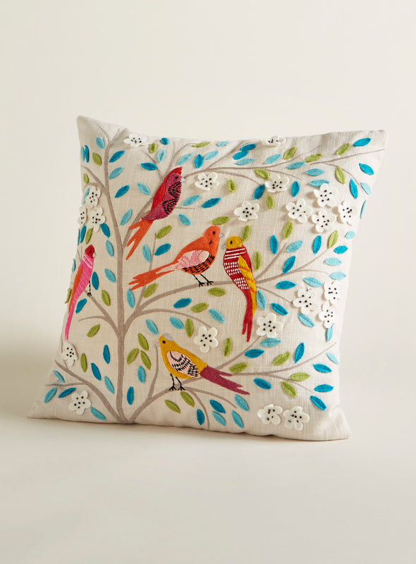 Indian Treeswift Throw Pillow