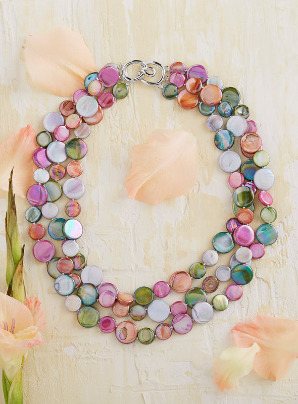 Sweet Sensations Mother of Pearl Necklace
