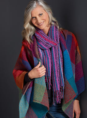Wild Atlantic Way Woolen Poncho