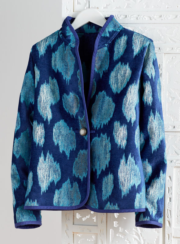 Ocean Currents Tapestry Jacket
