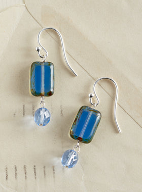 Bohemian Treasures Single-Tile Earrings