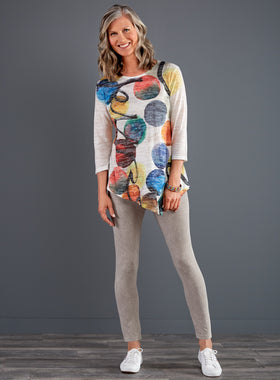 Modern Masterpiece 3/4-Sleeve Tunic