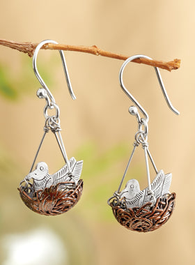 Lucky Bird's Nest Earrings