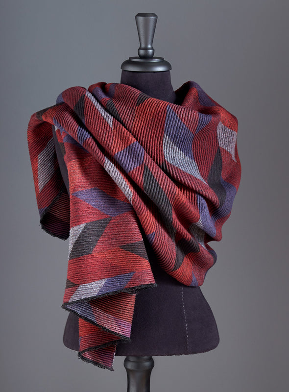 Perfect Pleated Scarf