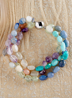 Magnet For Compliments Semiprecious Bracelet