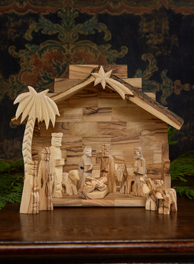 Olive Branch Nativity Set
