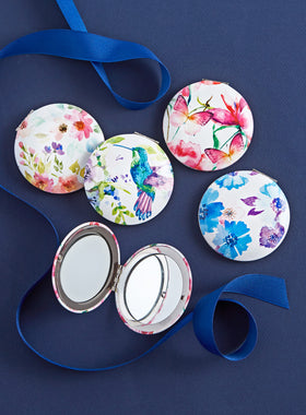 Beauty in Bloom Pocket Mirrors - Set of 4
