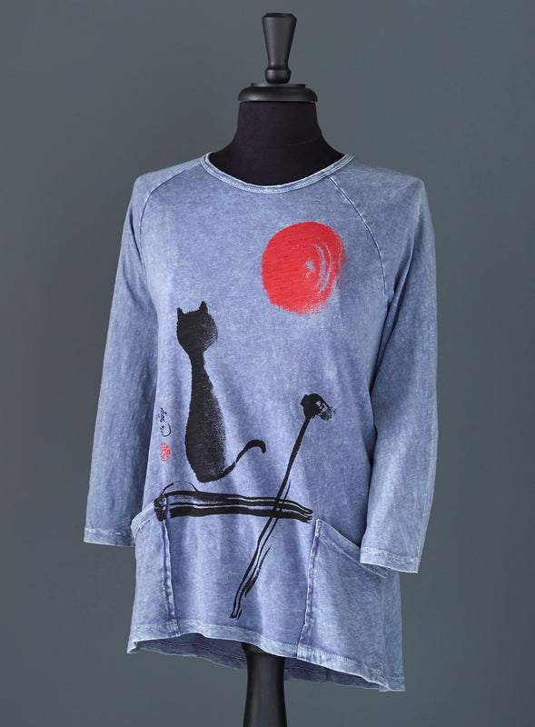 City Zen Kitty Tunic