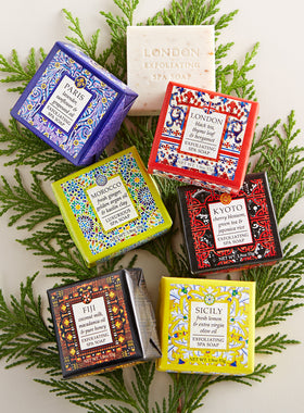 Around the World Shea Butter Soaps - Set of 6