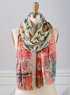Haveli Pink Scarf