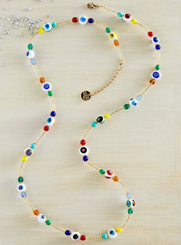 Venetian Murrine Bead Necklace