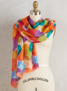 Color Wheel Scarf
