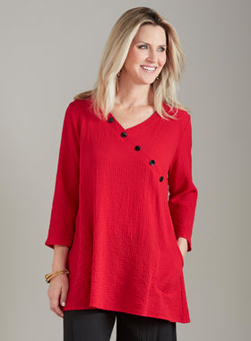 Play the Angle Button Detail Tunic
