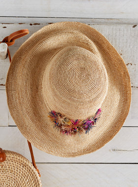 Allium Bloom Garden Hat