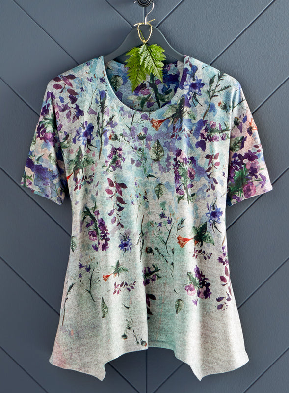 Wisteria Arbor Short-Sleeve Tunic