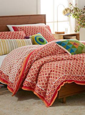 Windowpane Bedding