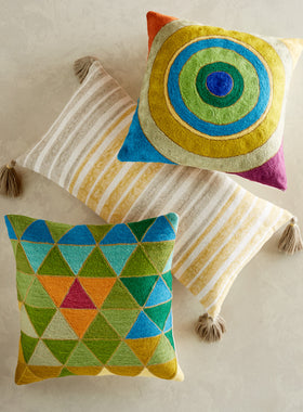 Prairie School Throw Pillows