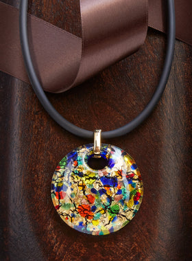 Mesmerizing Millefiori Necklace