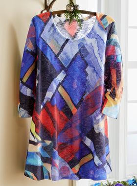 Stained Glass Sunshine Tunic