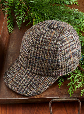 Woodlands Irish Tweed Baseball Cap