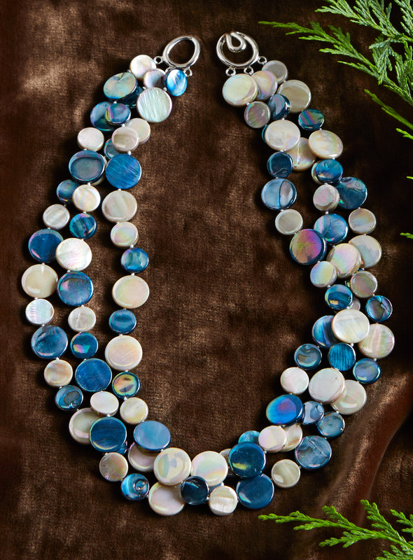 Shoreline Mother of Pearl Necklace
