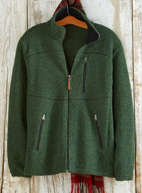 Woodsman's Wool Fleece Jacket