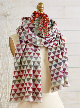 Irish Diamond Scarf