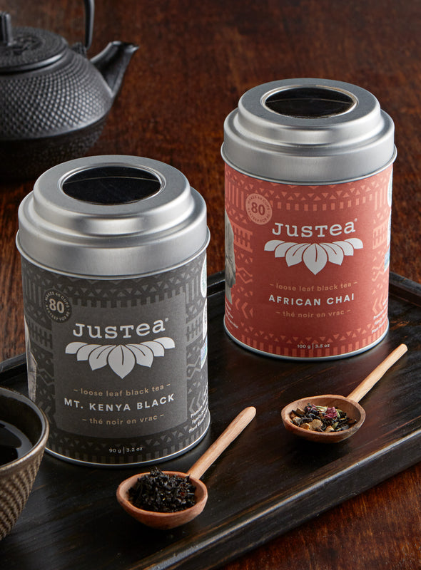 Loose Leaf Tea Gift Set - African Chai and Mt. Kenya Black