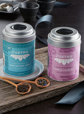 Loose Leaf Tea Gift Set - Purple Jasmine and Earl Grey