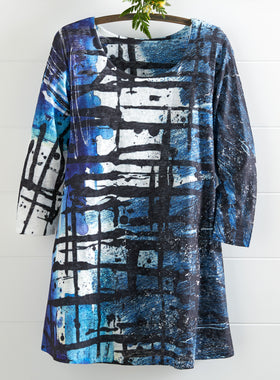 Window Panes Tunic