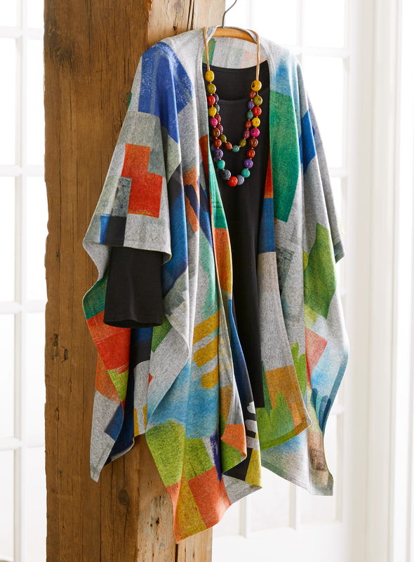 Color Block All-in-One Wrap