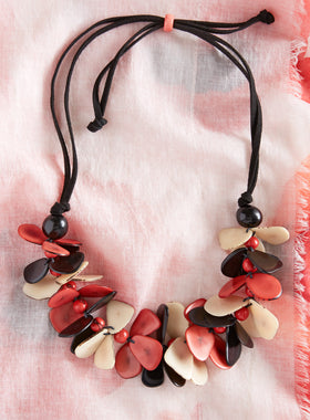 Flutterby Tagua Necklace
