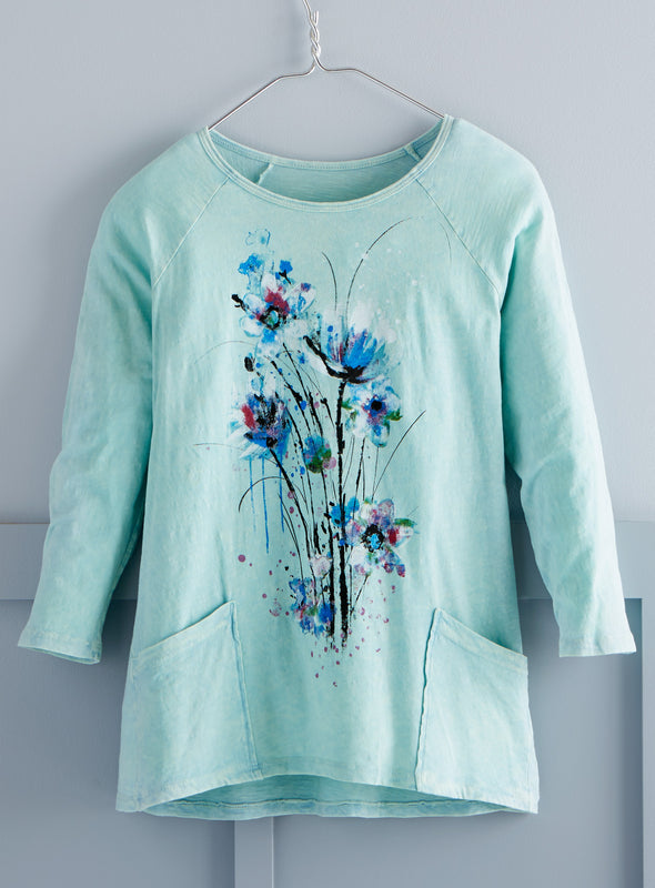 Painter's Bouquet Pocket Tunic