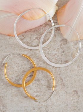 Everlasting Hoop Earrings
