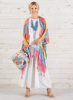 Painted Desert Silk Caftan