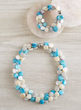 Sand and Sea Mother-of-Pearl Jewelry