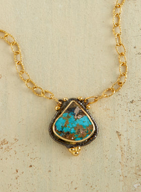 Turquoise Empress Necklace