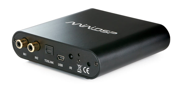 miniDSP 2x4 HD - DAC, 2-inputs, 4-outputs and DSP capability