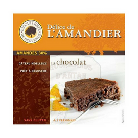 Biscuiterie de Provence Gluten Free Almond Chocolate Cake 7.9 oz-Biscuiterie de Provence-Le Tablier Bleu | Online French Supermaket
